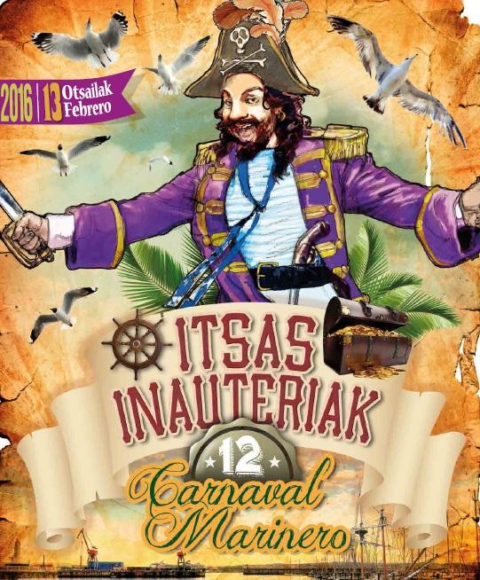 Cartel Carnaval Santurtzi 2016