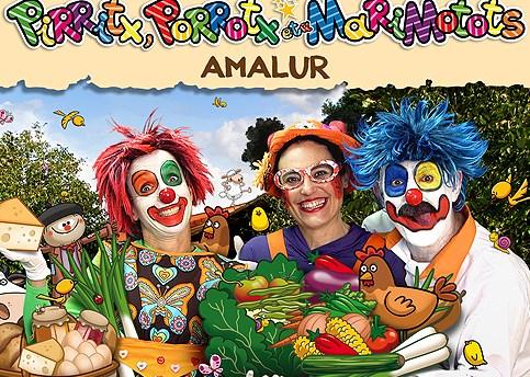 Pirritx, Porrotx eta Marimotots: 'Amalur'