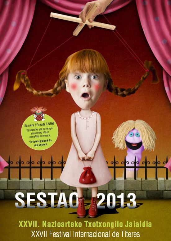 Cartel del Festival Internacional de Títeres 2013