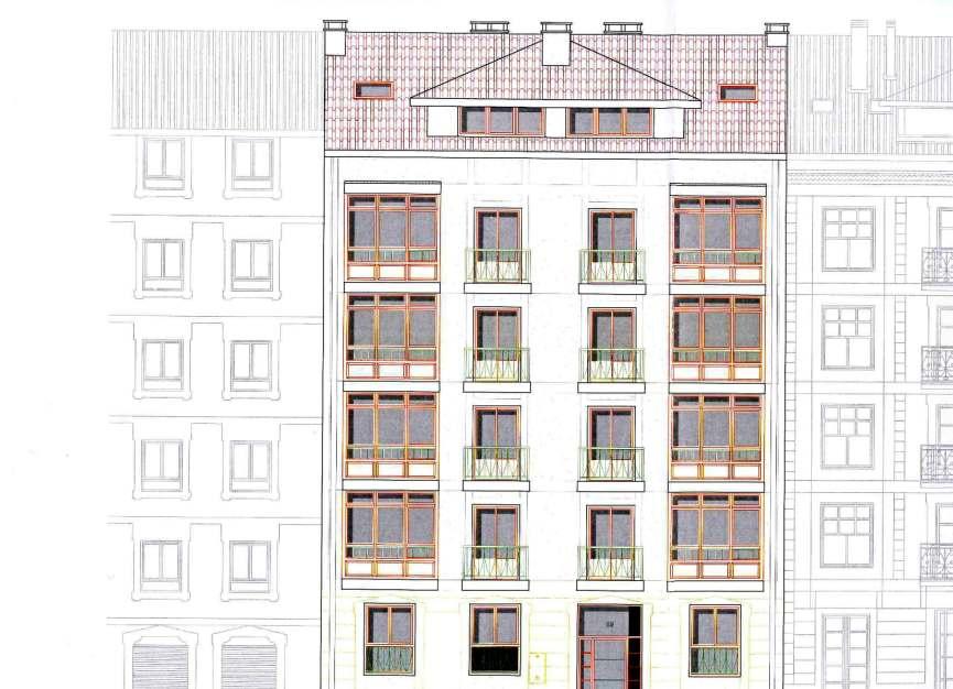 Proyecto de viviendas en la calle Txabarri de Sestao.