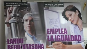 Campaña de Igualda de Emakunde.