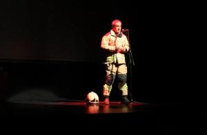 Joseba Etxaburu, bombero del parque de Iurreta