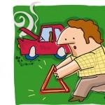 ¿Qué hacer en caso de accidente de trafico?
