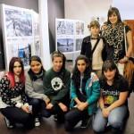 Exposición itinerante de 'Peatón, no atravieses tu vida' en Vitoria