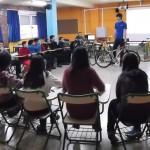 Los jóvenes durangueses siguen disfrutando del ConBiciVive