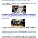 Rafael Catalá y las Asociaciones de Víctimas de Accidentes de Tráfico analizan la Reforma del Baremo