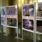 """Recorrido del la III. Exposición Itinerante  """"Peatón, no atravieses tu vida""""  por GIPUZKOA - 2016"""