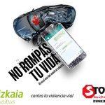 Campaña de concienciación contra la Violencia Vial. Stop Accidentes Euskadi - Bizkaibus