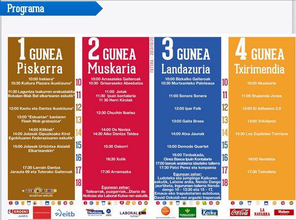 Programa Nafarroa Oinez 2013.