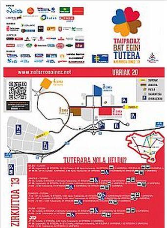 Cómo llegar al circuito de Nafarroa Oinez 2013, en Tudela.