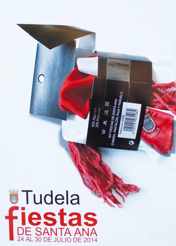 Cartel anunciador de las Fiestas de Tudela 2014