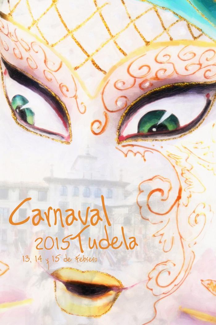 Cartel Carnavales 2015. Obra de Ángel Ligero.