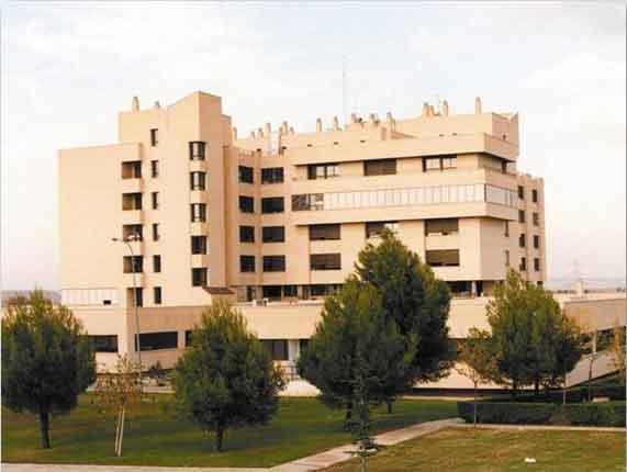 Hospital Reina Sofia. Foto: historiadetudela.es