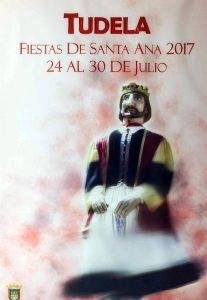 Cartel de las fiestas de Tudela 2017. Foto: Ayuntamiento de Tudela