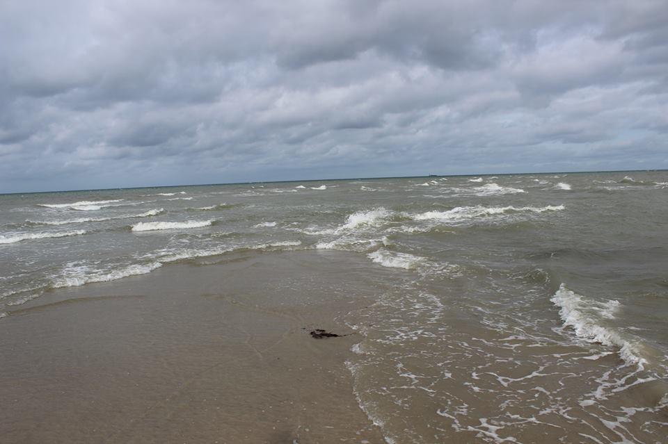 El mar del Norte y el Báltico en Skagen