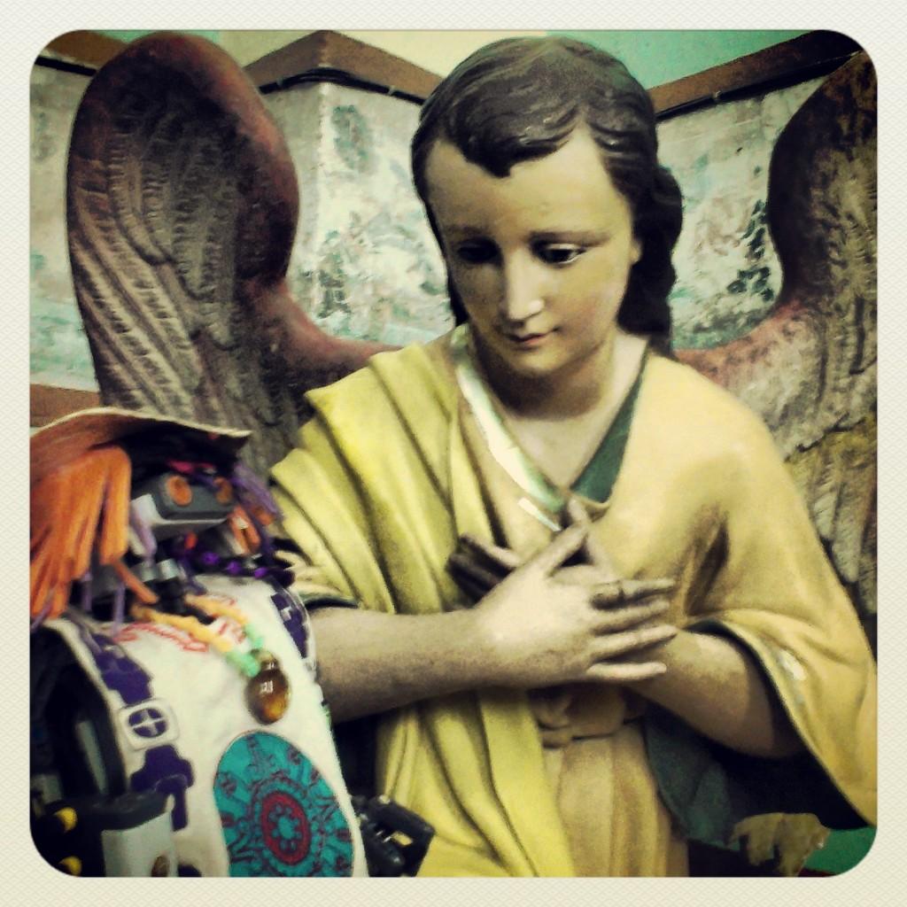Los ángeles del cielo protegen nuestro viaje