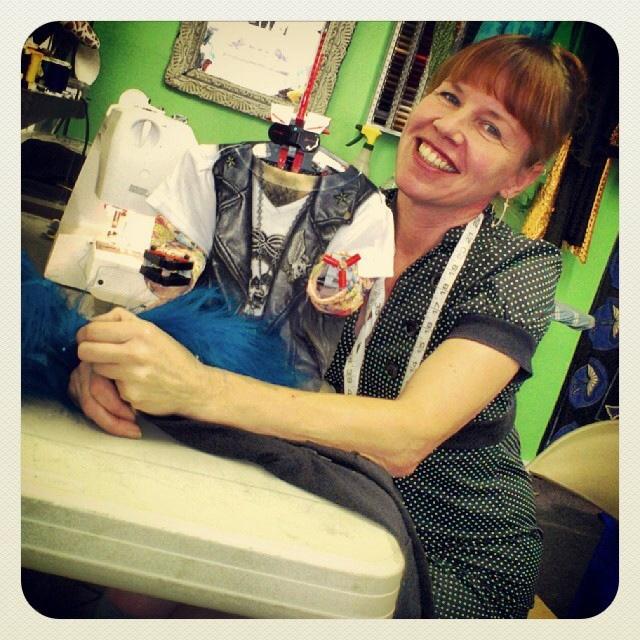 Susan, la modista pelirroja de Sirimiri