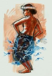 Artist Judith Kunzle