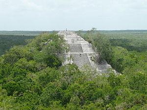 Calakmul. Wikipedia
