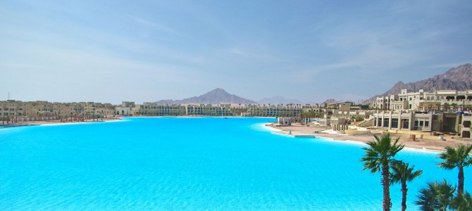 Crystal Lagoons alcanza un nuevo Récord Guinness  con una laguna en pleno desierto