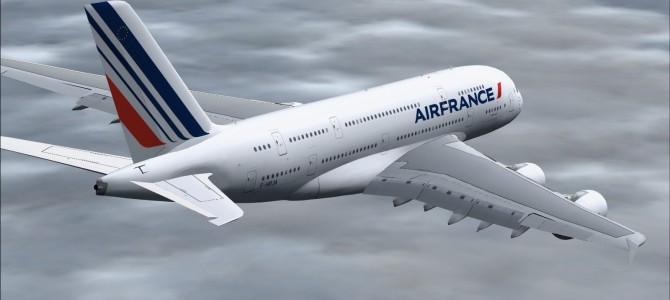 AIR FRANCE: El A380 pone rumbo a México