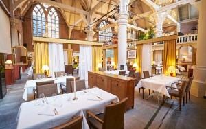 Restaurante Vermeer, interior