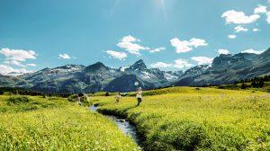 Suiza en verano