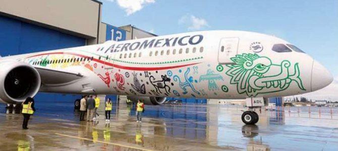 """AEROMÉXICO y su nuevo Boeing 787-9 Dreamliner """"QUETZALCÓATL"""""""