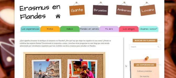FLANDES: 700€/mes para 10 corresponsales Erasmus en Flandes
