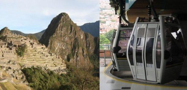 PERÚ: ¿MACHU PICCHU en teleférico?.