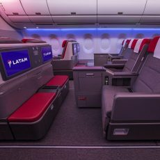 LATAM invierte 400 millones de dólares en transformar las cabinas de más de 200 aviones