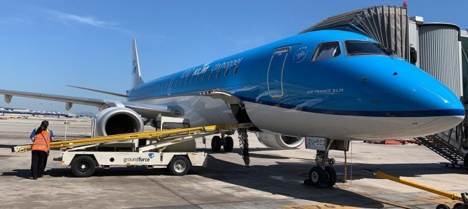 KLM reanuda su red europea de manera gradual y prudente