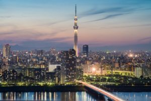 Tokyo. Skytree,skyline