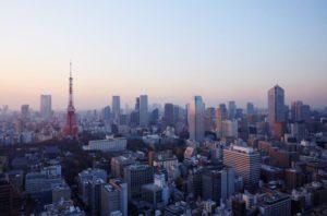 Vista ciudad_Torre de Tokio_