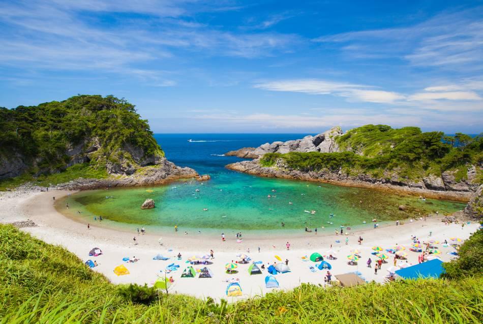 Tokio: Aquí sí hay playa
