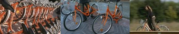 Bicicletas naranjas de Vitoria FOTO: vitoria-gasteiz.org
