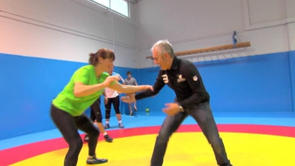 Maider Unda, luchadora olímpica