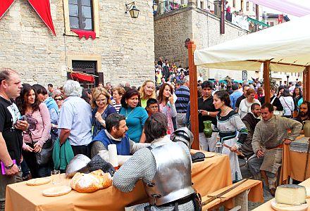 Mercado Medieval de Vitoria-Gasteiz. Foto: www.vitoria-gasteiz.org
