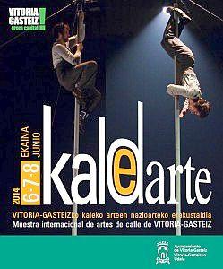 Cartel de Kaldearte 2014. Foto: Ayuntamiento de Vitoria-Gasteiz
