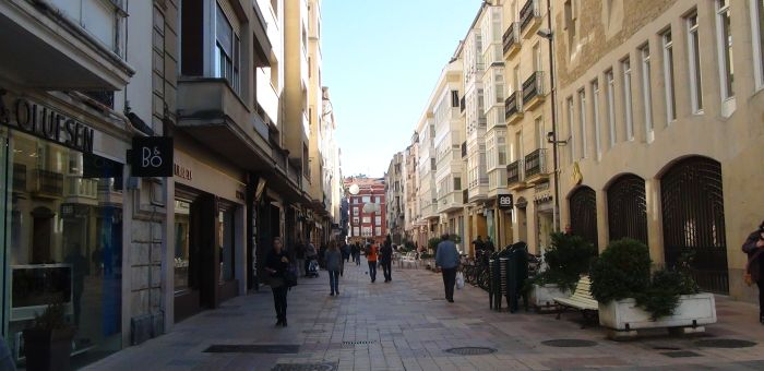 Calle San Prudencio. Foto: gasteizhoy.com