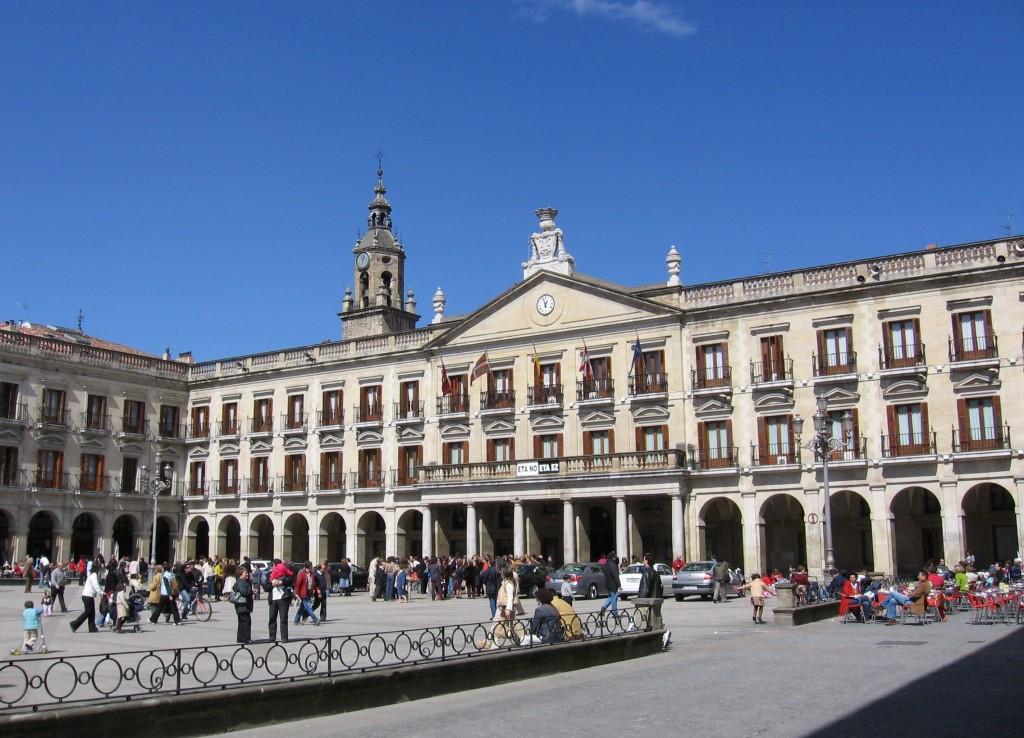 Plaza España de Vitoria-Gasteiz. Foto: Wikipedia