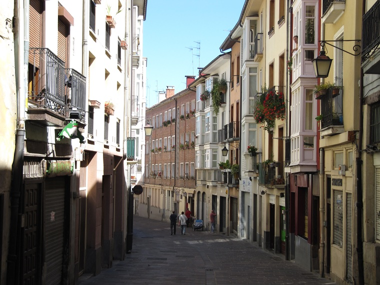 Calle Nueva Dentro-Judería. Foto: conociendoalava.blogspot.com