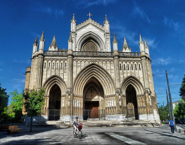 La catedral Nueva de Vitoria-Gasteiz. Foto de Iñaki Zorriketa