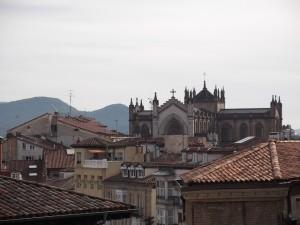 La catedral Nueva a lo lejos. Foto de Luis Angel Pérez