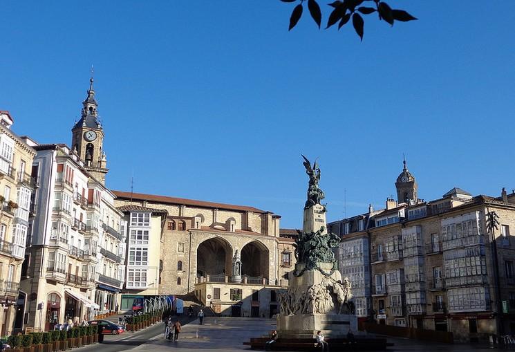 Plaza de la Virgen Blanca. Foto: Jose Maria Alonso
