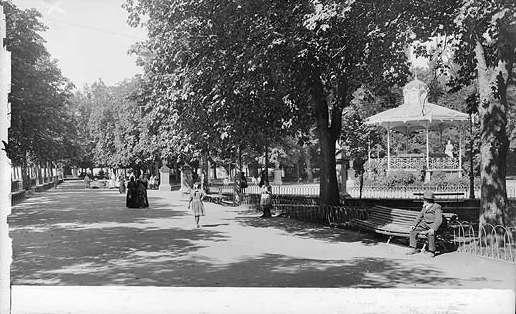 Vitoria-Gasteiz. Paseo de la Florida, hacia 1905. Foto: vitoria-gasteiz.org
