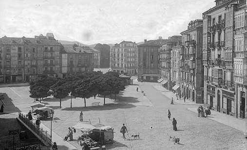 Vitoria-Gasteiz. Plaza de la Virgen Blanca. Foto: vitoria-gasteiz.org