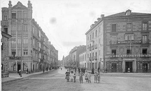 Vitoria-Gasteiz. Calle San Antonio. Foto: vitoria-gasteiz.org