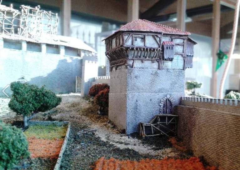Torre de los Anda. Parte de la Maqueta nº5. Foto: Víctor Sanz-Yrazu