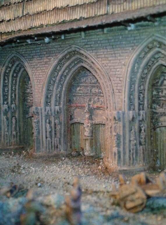 Pórtico. Catedral de Santa María. Foto: Víctor Sanz-Yrazu